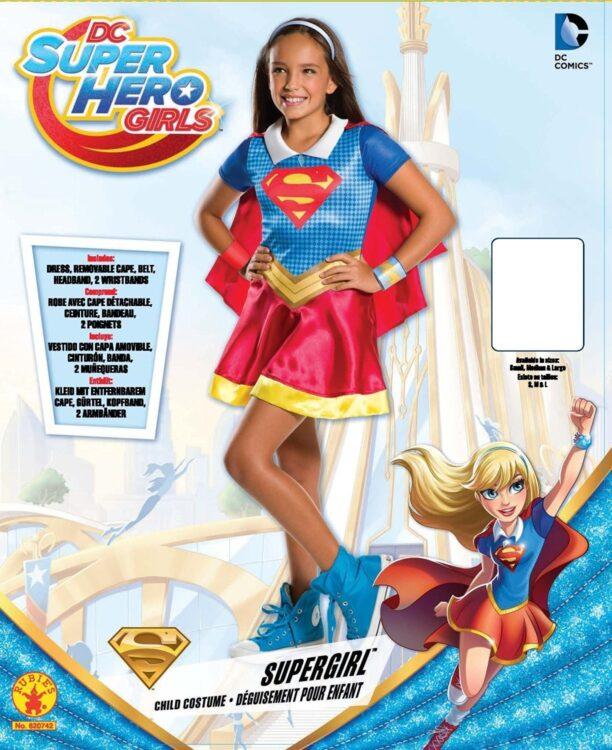 Costume Bimba Supergirl Taglia L