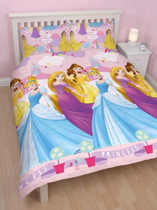 Copripiumino Principesse.Parure Copripiumino Matrimoniale Principesse Disney Enchanting Copr