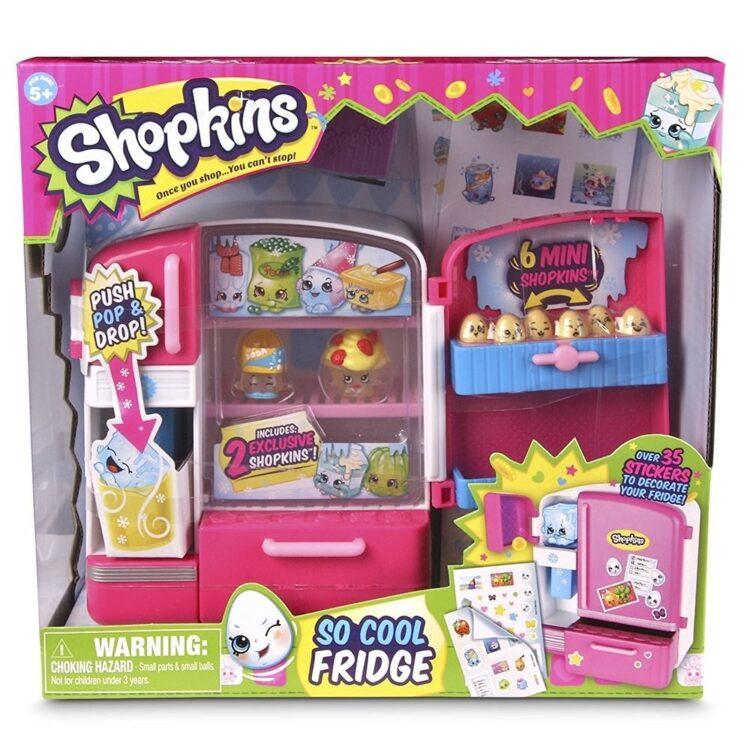 Shopkins Frigo con 2 mini Personaggi