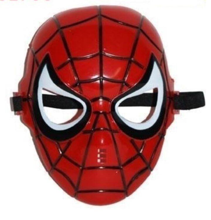 maschera bimbo spiderman rigida