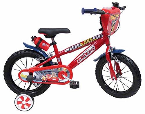 Bicicletta con rotelle Disney Cars 14 pollici