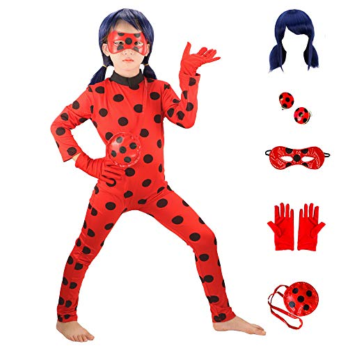 Costume Miraculous Ladybug Taglia 4-6 anni