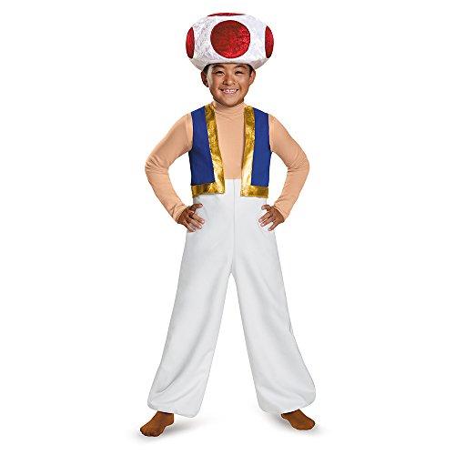 Costume bimbo Toad Super Mario