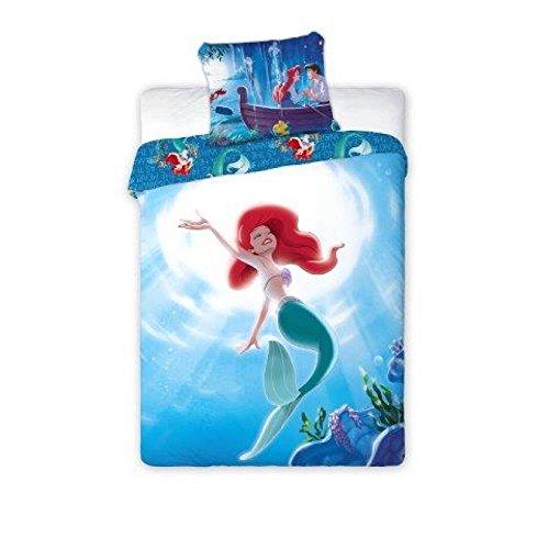 Parure Copripiumino singolo Disney La Sirenetta